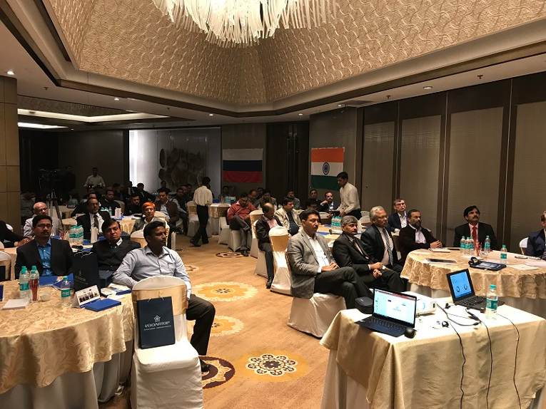 The audience of the Russia — India open workshop on power industry