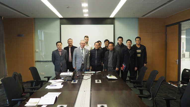 Meeting with Powerchina Huadong Engineering Corporation Limited