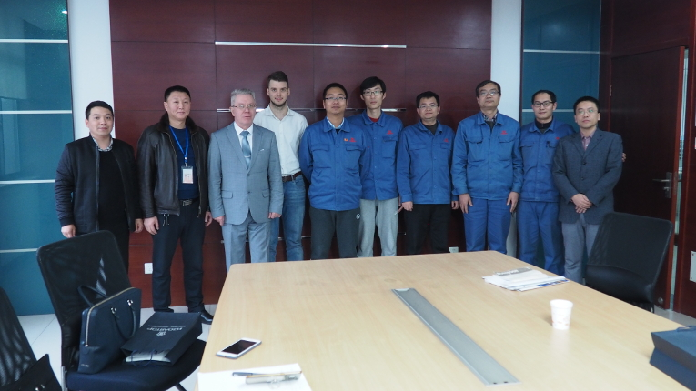 Meeting participants at China XD Group Changzhou