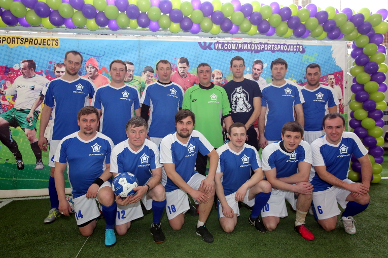 Izolyator team at the Science of Russia 2018 Futsal Cup