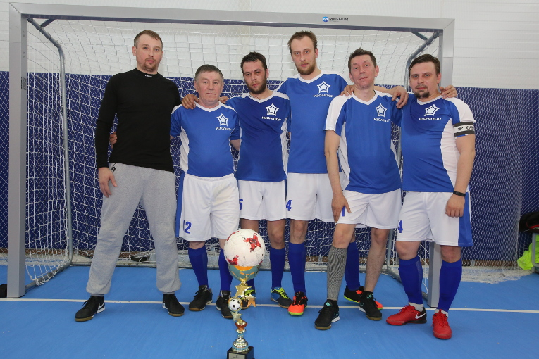 Team 1 of mechanical shop became the first in Izolyator 2018 Spring Futsal Cup among Izolyator staff members