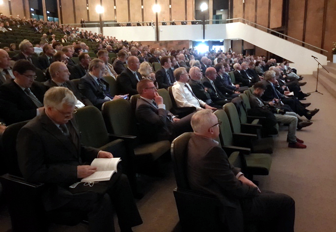 "The audience of the XIth International Scientific and Technical Conference ""Safety, Efficiency and Economics of Nuclear Power Industry"" (MNTK-2018)"