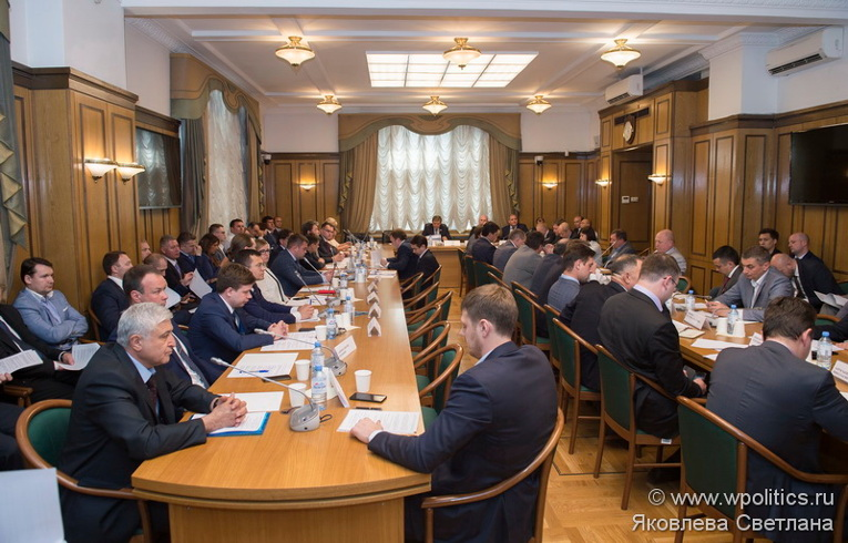 Meeting of the expert council of Just Russia Parliamentary Group on Import Substitution in Trasneft