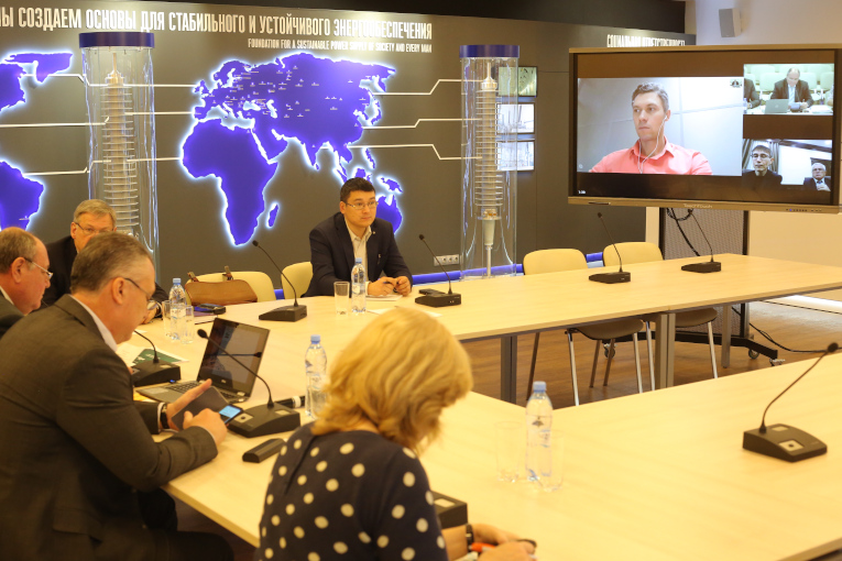 Meeting of Study Committee D1  RNC CIGRE at Izolyator plant traditionally went as a video conference
