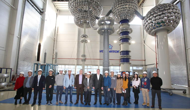 Visit of representatives of Shenyang Transformer Research Institute