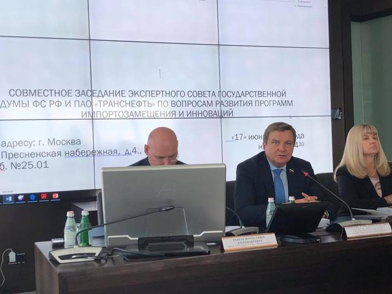 Joint Meeting of the Expert Council by the Energy Committee of the State Duma and Transneft
