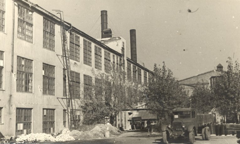 Izolyator plant in the 1940s