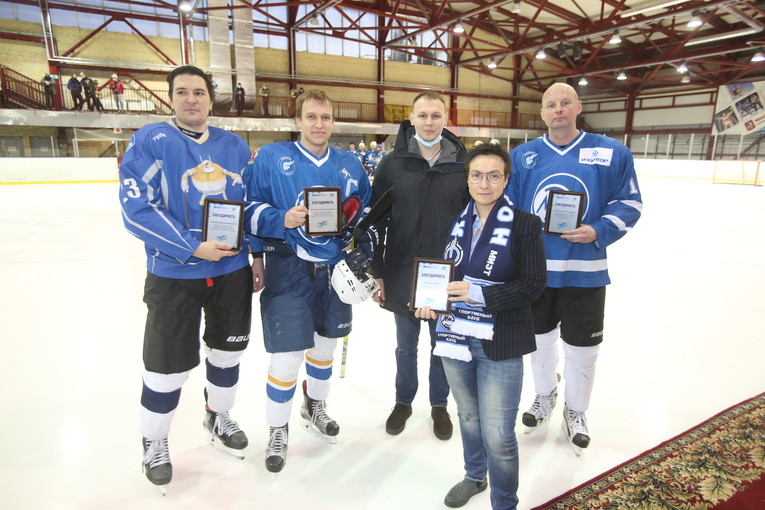 Hockey Match of Generations dedicated to the 55th anniversary of the National Research University of Electronic Technology